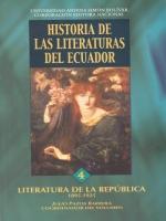 Literatura de la República. Período 1895-1925