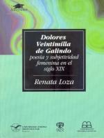 Dolores Veintimilla de Galindo: poesía y subjetividad femenina en el siglo XIX