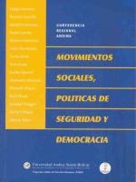 Movimientos sociales, políticas de seguridad y democracia