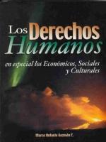 Los derechos humanos: en especial los económicos, sociales y culturales