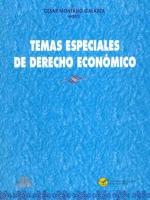 Temas especiales de derecho económico
