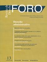 Foro: revista de derecho