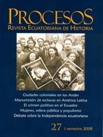 Procesos: revista ecuatoriana de historia