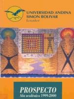 Prospecto año académico 1999-2000