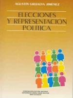 Elecciones y representación política