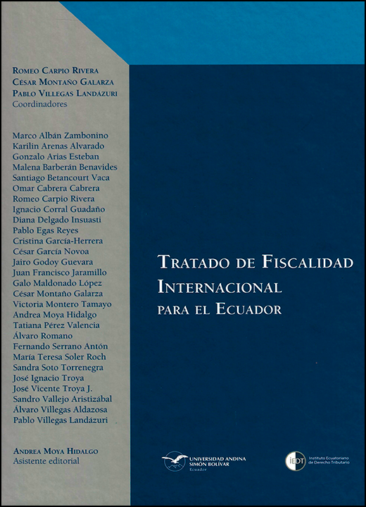 Tratado de Fiscalidad Internacional para el Ecuador