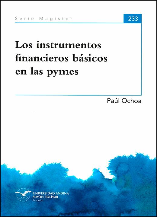 Los instrumentos financieros básicos en las pymes