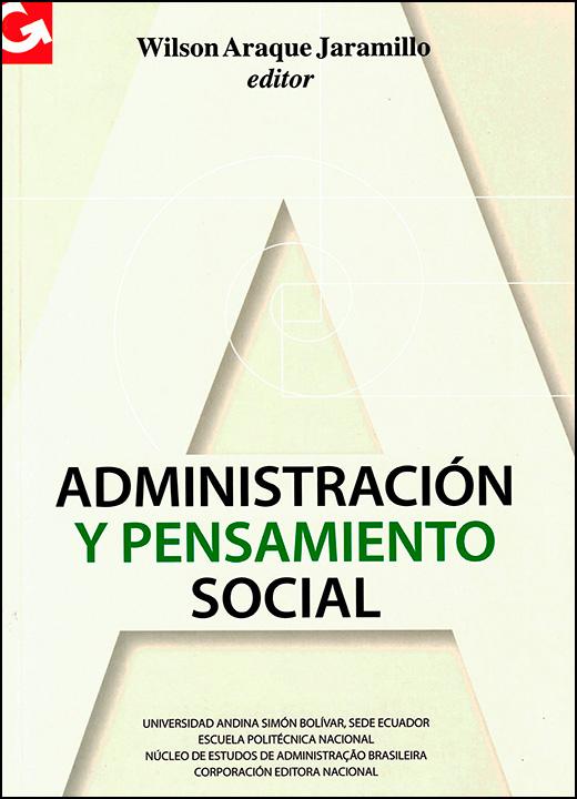Administración y pensamiento social