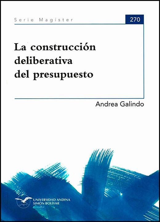 La construcción deliberativa del presupuesto