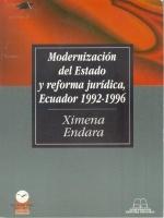 Modernización del Estado y reforma jurídica, Ecuador 1992-1996