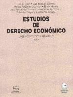 Estudios de derecho económico