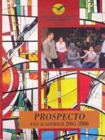 Prospecto año académico 2005-2006