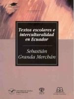 Textos escolares e interculturalidad en Ecuador