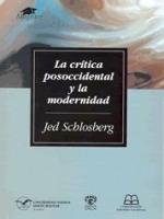 La crítica posoccidental y la modernidad
