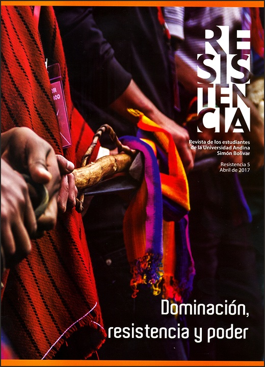 Resistencia: Revista de los estudiantes de la Universidad Andina Simón Bolívar