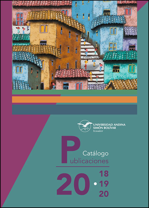 Catálogo de Publicaciones 2018-2020