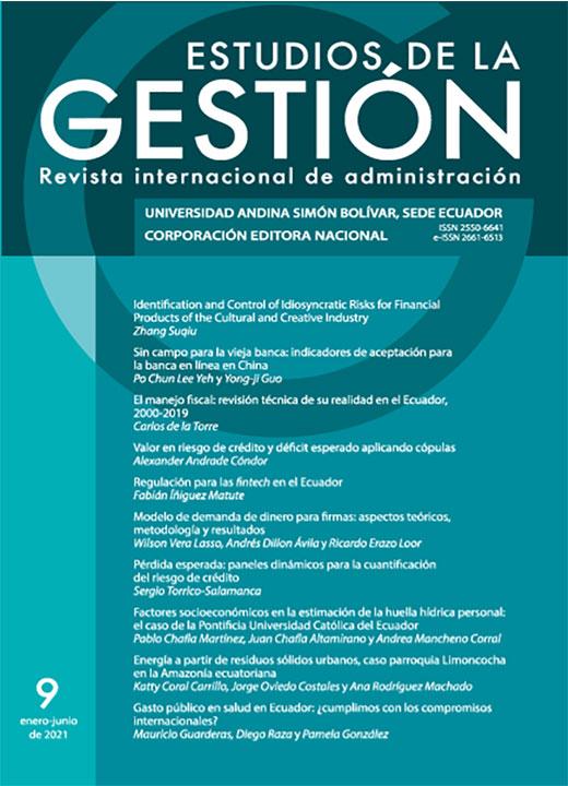 Estudios de la Gestión. Revista Internacional de Administración