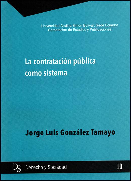 La contratación pública como sistema