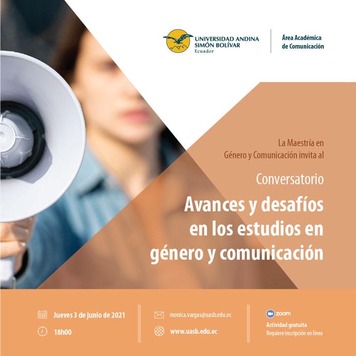 """Conversatorio """"Avances y desafíos en los estudios en género y comunicación"""""""