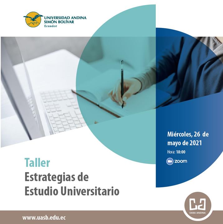 """Taller """"Estrategias de Estudios Universitario"""""""