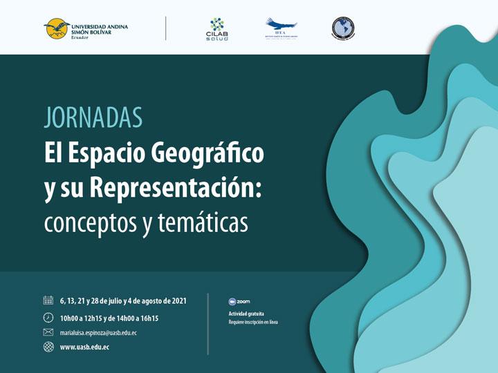 """Jornadas """"El Espacio Geográfico y su Representación: conceptos y temáticas"""""""