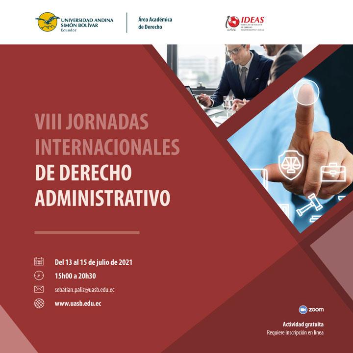 VIII Jornadas Internacionales de Derecho Administrativo