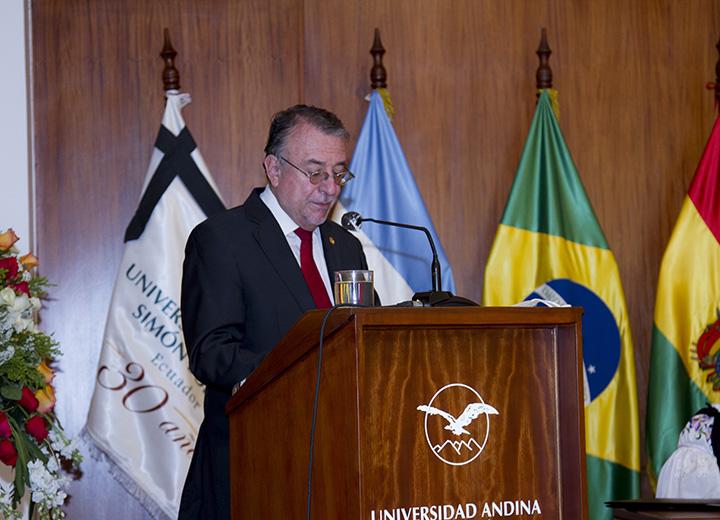 Discurso de Enrique Ayala Mora en la ceremonia del Natalicio de Simón Bolívar