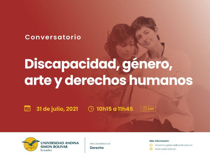 """Conversatorio """"Discapacidad, género y derechos humanos"""""""